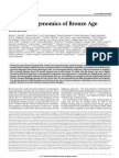 Population Genomics of Bronze Age Eurasi