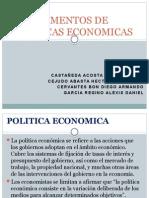 Instrumentos de Politica Econmica