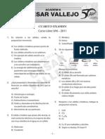Cuarto Examen de Quimica Curso Libre