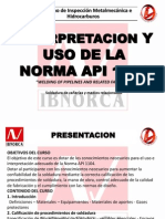 Interpretacion y Uso de La Norma API 1104