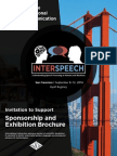 Interspeech 2016 - Sponsorship & Exhibitor Opportunities