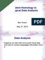 Topological Data Analysis Presentation