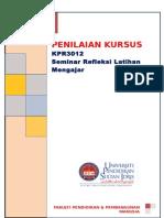 Penilaian Kursus Kpr 3012 Sem 1 Sesi 2015 2016 New