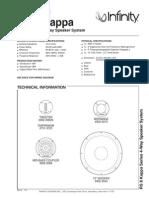 Kappa 8 Technical Sheet