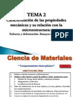 Esfuerzo y Deformaciones-Ciencia de Materiales