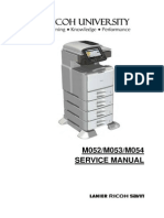Ricoh 5200 SP Service manual