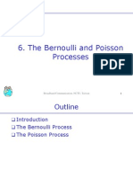 6.the Bernoulli and Poisson Processes