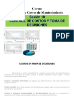 Control de Costos y Toma de Decisiones