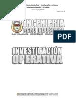 Investigación Operativa