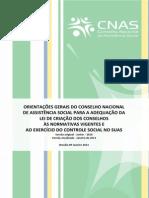 Orientações Gerais para CRIAÇÃO DOS CONSELHOS - 2013.PDF