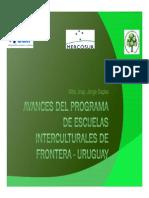 Programa de Escuelas Interculturales de Frontera 2015