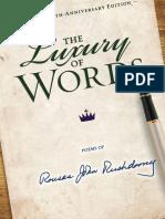 Luxury of Words SAMPLE