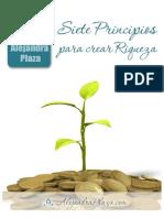 7 Principios Crear Riqueza