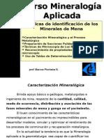 01-Caracterización Mineralógica y El Proceso Metalurgico