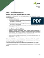 IIIA02 Técnico Administrativo Programa