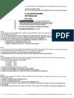 Examen Finance de Marche l 1h30 Documents Autorises l