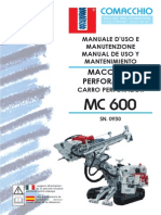 Manuale Uso MC600