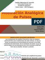 Modulacion Analogica de Pulsos