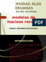 MODELOS MACIZOS ROCOSOS
