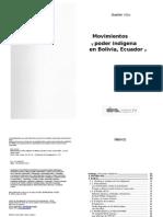 Movimientos y Poder Índigenaen Bolivia, Ecuador y Perú - Xavier Albo