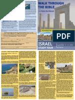 Israel Study Tour 2016 Brochure