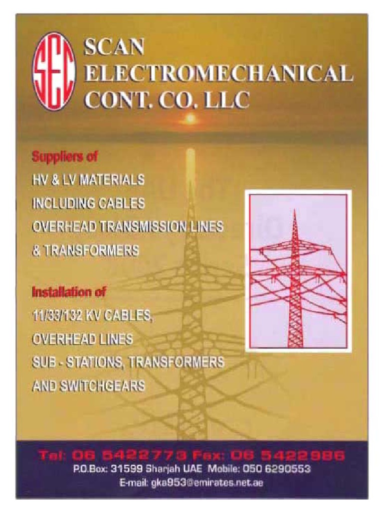 Scan Profile for Email   Transformer   Electric Power