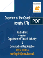 Overview of the Construction-KPI-Presentation