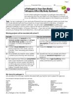 science 8 biology transfer task student booklet