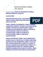 JULIO VERNE Libros Aguilar