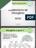 Metabolismo Glicogenio