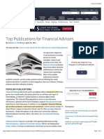 Top Publications for Financial Advisors