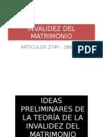 Invalidez Del Matrimonio1