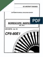 CF6-80E1 Borescope GEK100759
