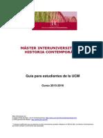 Guia Estudiantes Master 2015-2016