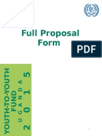 Full Proposal Template Y2Y 2015