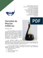 Densidad Mezclas Asfálticas
