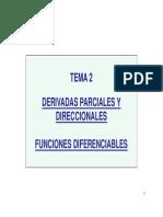 Derivadas Parciales y Direccionales (1)