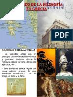 Comienzo de la Filosofía en Grecia