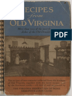 Recipes from old Virginia