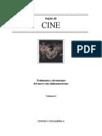 Hojas de Cine I. Testimonios y Documentos Del NCL
