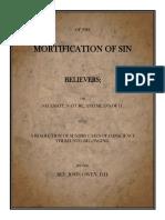 John Owen - On the Mortification of Sin, V.2