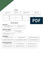 Formulas Ecuaciones
