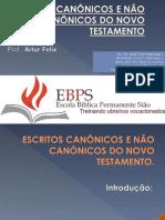 Escritos Canônicos e Não Canônicos Do Nt 2
