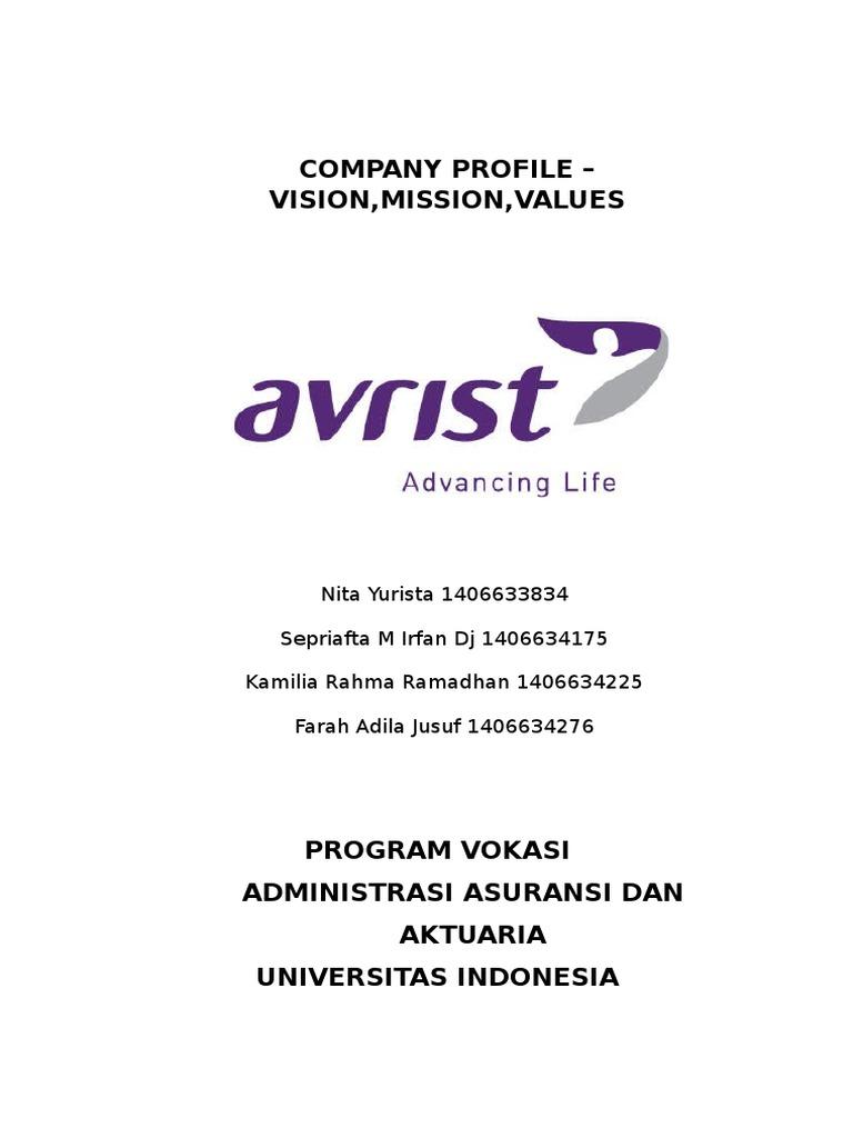 Avrist Insurance Sharia Actuary