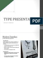 Type Presentation