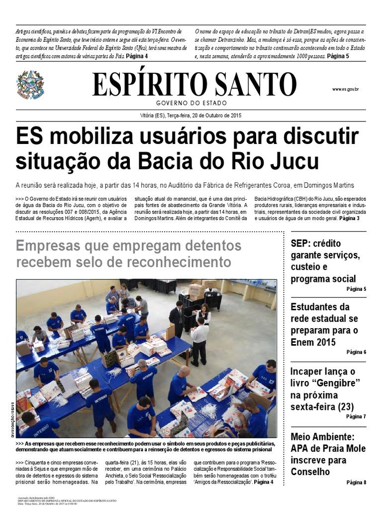 Diario Oficial 2015-10-20 Completo a2711292cb26c