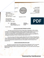 County Counsel - First Rejection Letter