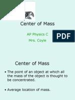 2 Center of Mass