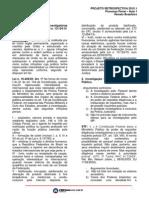 Projeto Retrospectiva - Processo Penal
