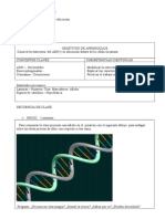 Plan de clases ADN